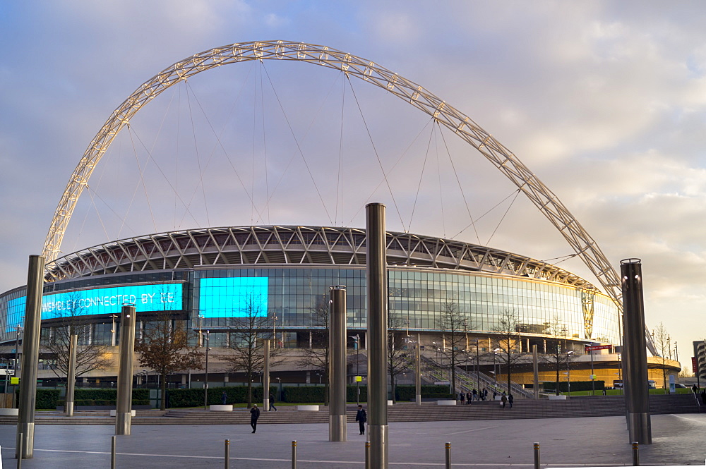 Wembley Stadium Arch, London, England, United Kingdom, Europe - 367-6104