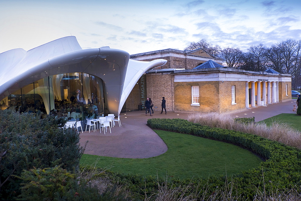 Serpentine Sackler Gallery and Magazine Restaurant, Kensington Gardens, Hyde Park, London, England, United Kingdom, Europe - 367-6110