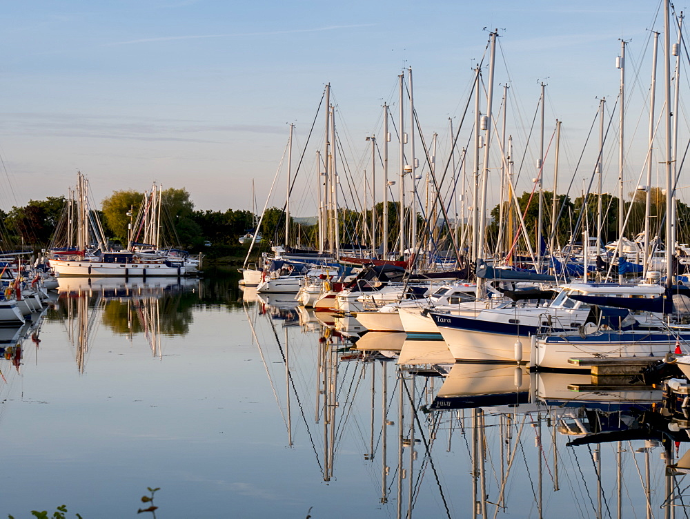 Chichester Harbour Marina, Chichester, West Sussex, England, United Kingdom, Europe - 367-6170