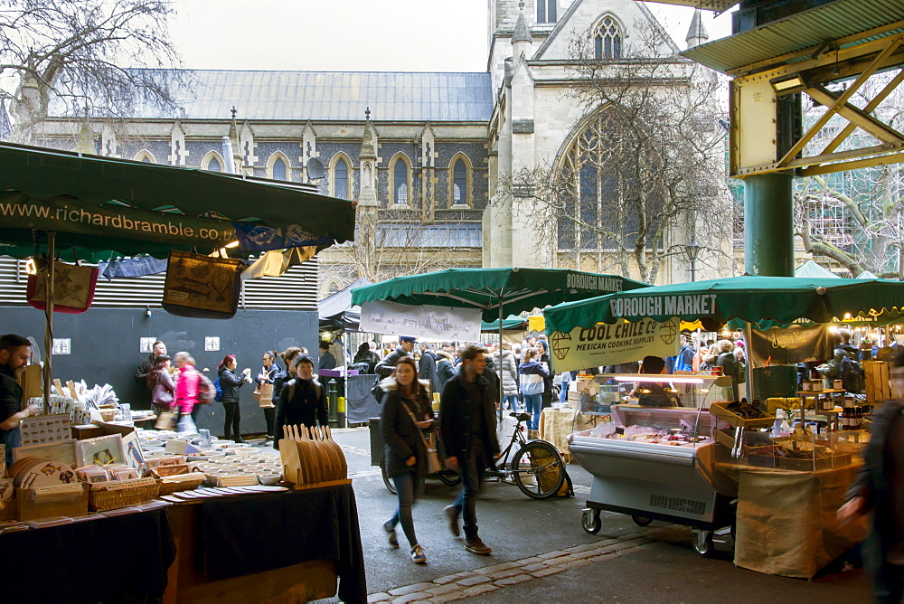 Borough Market, London Bridge, London, England, United Kingdom, Europe - 367-6188