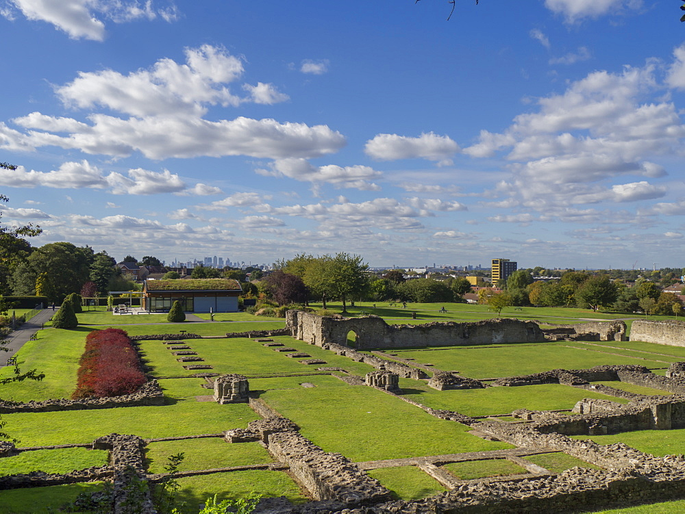 Lesnes Abbey, Abbey Woods, East London, London, England, United Kingdom, Europe