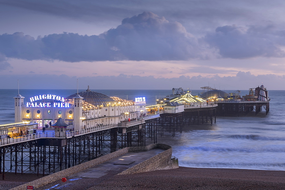 Brighton Pier, Sussex, England, United Kingdom, Europe - 367-6234