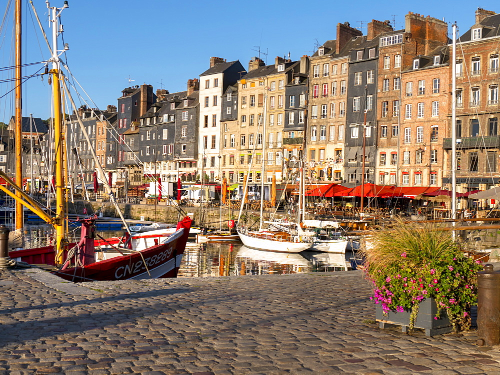 Honfleur old port, Calvados, Normandy, France, Europe - 367-6303