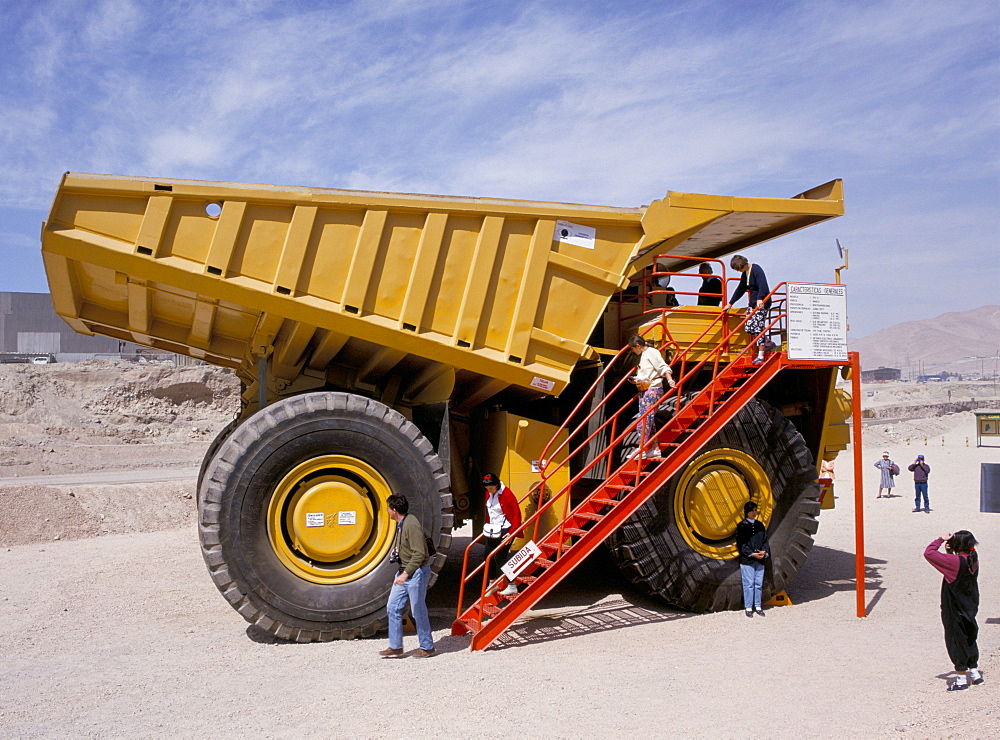 Chuquicamate copper mine, Atacama Desert, Chile, South America