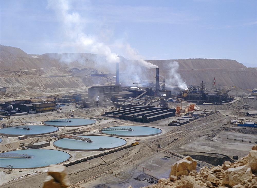 Chiquicamata Coppermine, Atacama Desert, Chile, South America