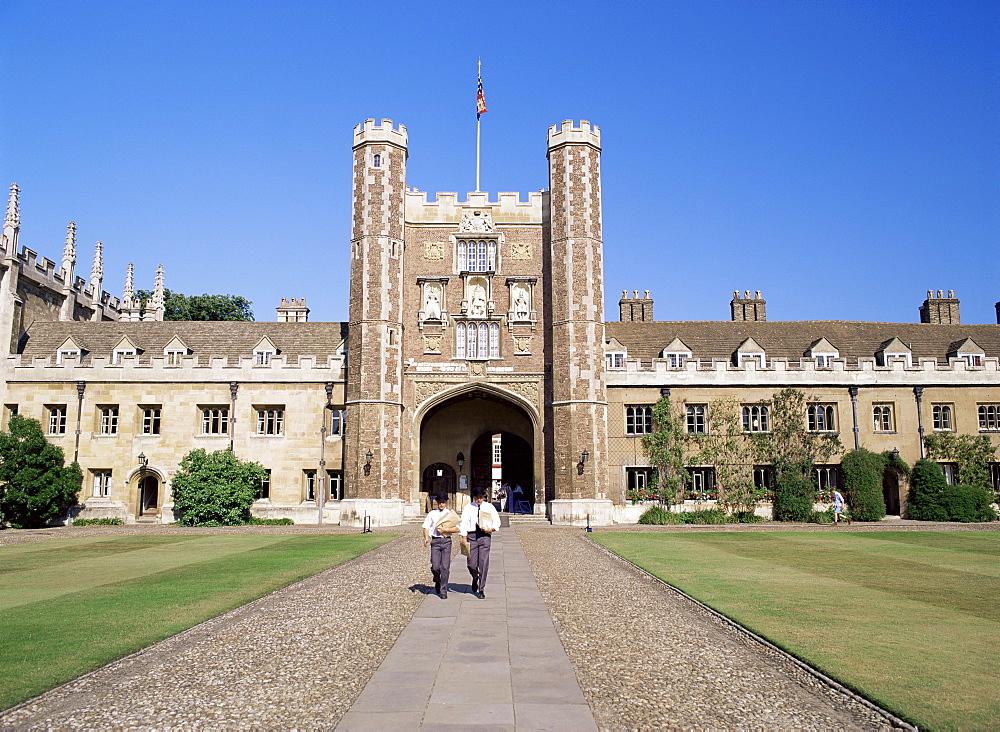 Trinity College, Cambridge, Cambridgeshire, England, United Kingdom, Europe - 371-1792