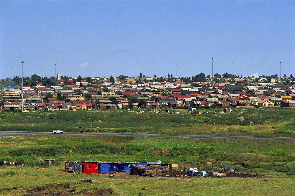 Shanty towns of Soweto, Johannesburg, South Africa, Africa