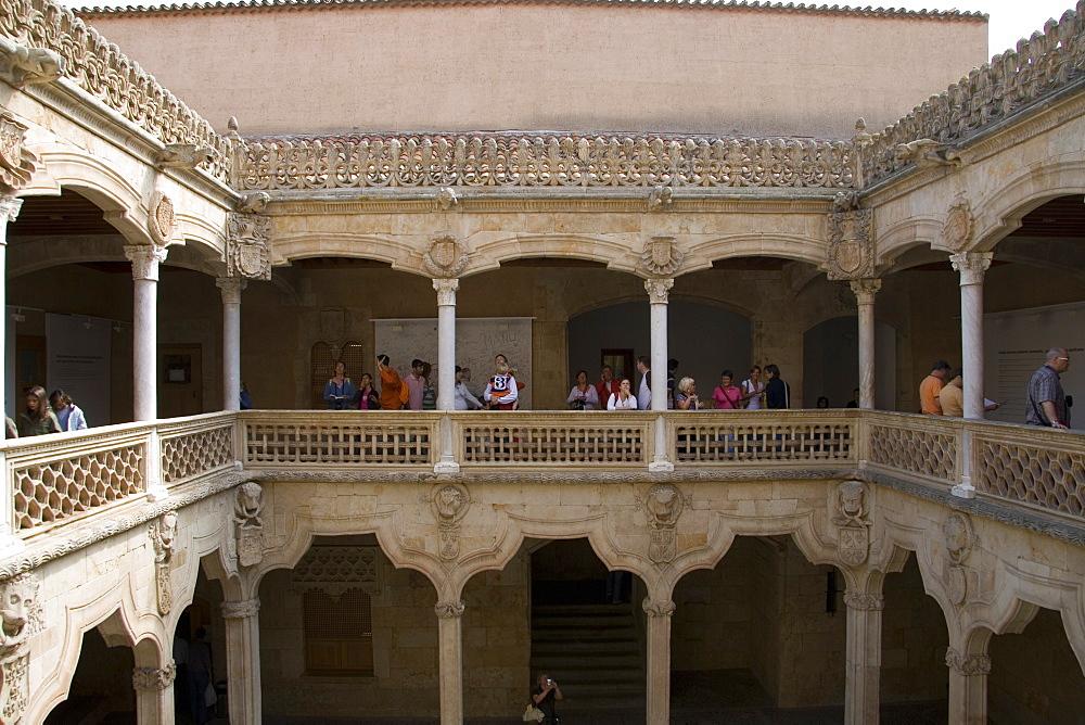 Public library building, Salamanca, Castilla y Leon, Spain, Europe - 375-697
