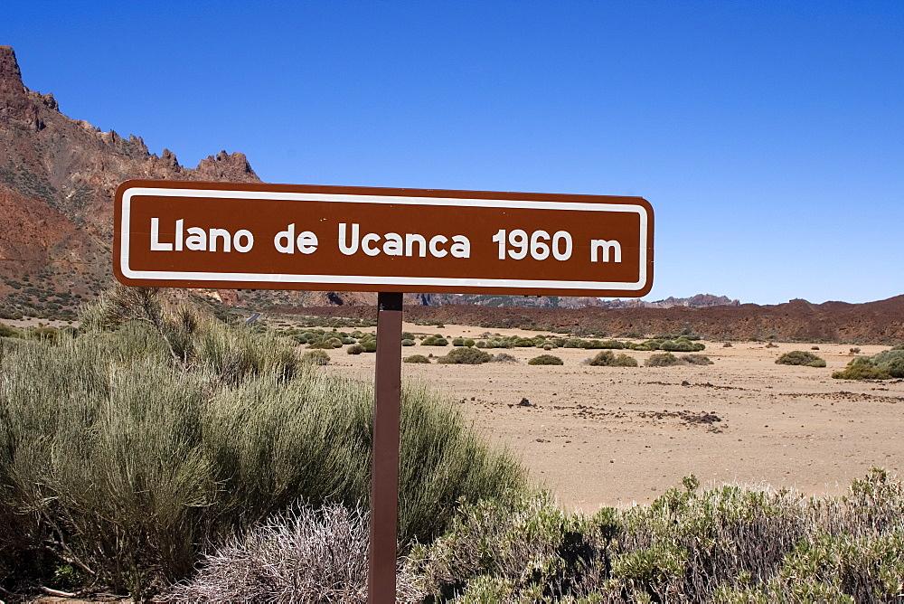 Llano de Ucanca, Parque Nacional de Las Canadas del Teide (Teide National Park), Tenerife, Canary Islands, Spain, Europe - 375-775