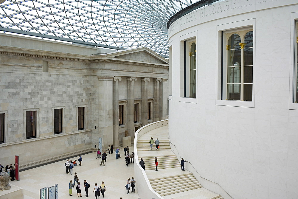 The Great Court of the British Museum, London, England, United Kingdom, Europe - 375-781