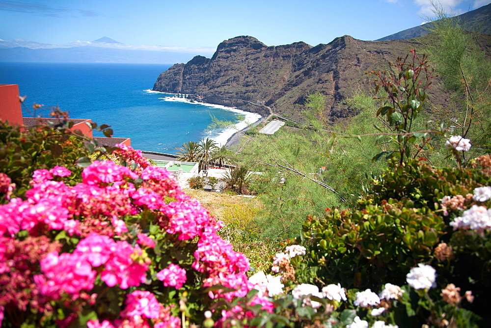 Mountain landscape, La Gomera, Canary Islands, Spain. Atlantic, Europe - 377-3794