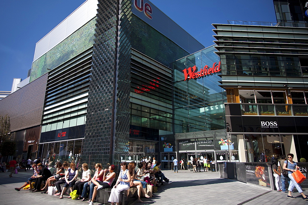 Westfield Shopping Centre, Stratford, East London, London, England, United Kingdom, Europe - 377-3932