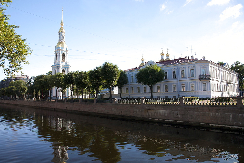 Smolny Cathedral, St. Petersburg, Russia, Europe - 377-3942
