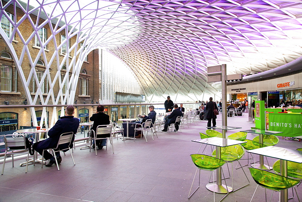 Kings Cross Rail Station, London, England, United Kingdom, Europe - 377-3962