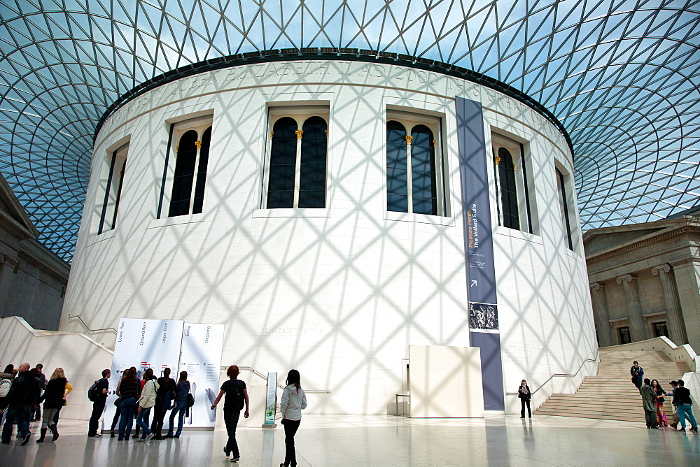 The Interior Rotunda, British Museum, London, England, United Kingdom, Europe - 377-3964