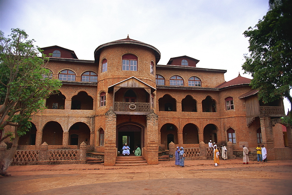 Sultan's Palace as he holds court, Foumban, Western Cameroun, West Africa, Africa