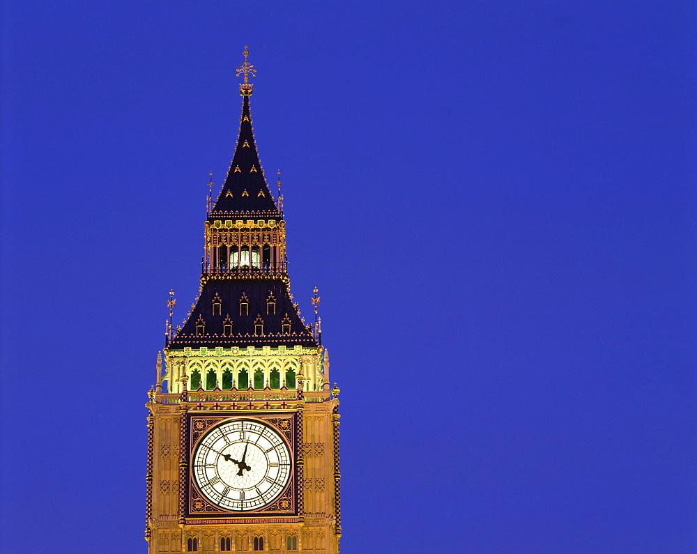 Big Ben, London, England, United Kingdom, Europe - 383-225