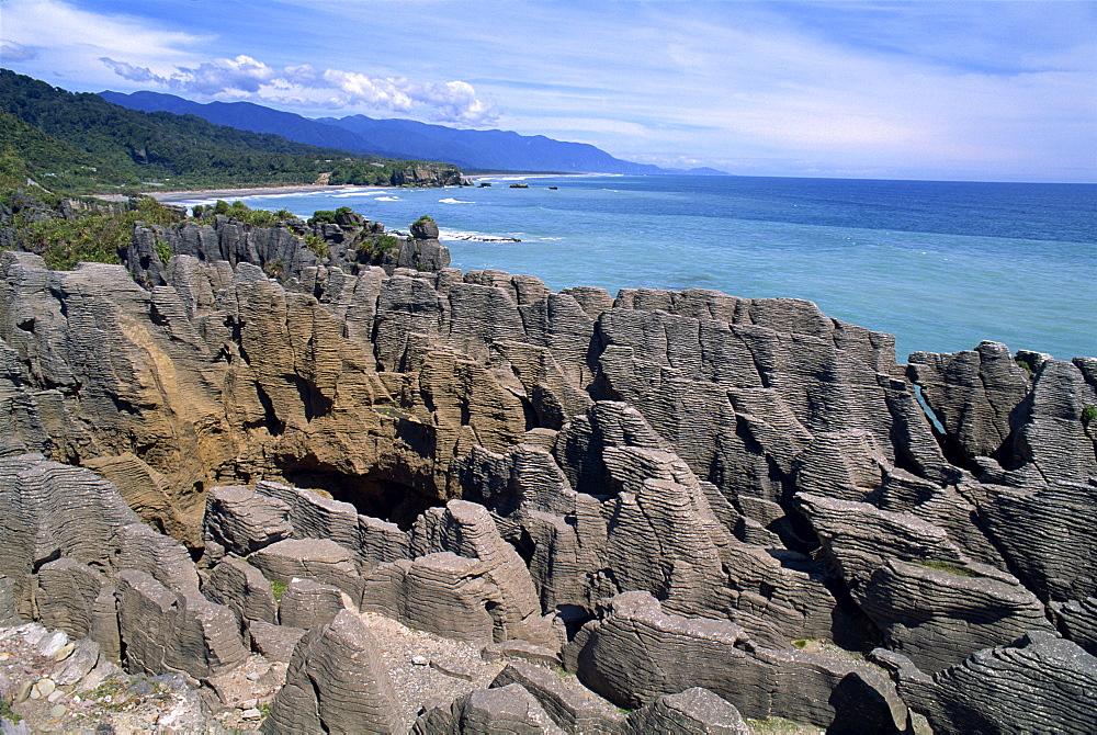 Pancake Rocks, Punakaiki, Paparoa National Park, Westland, South Island, New Zealand, Pacific