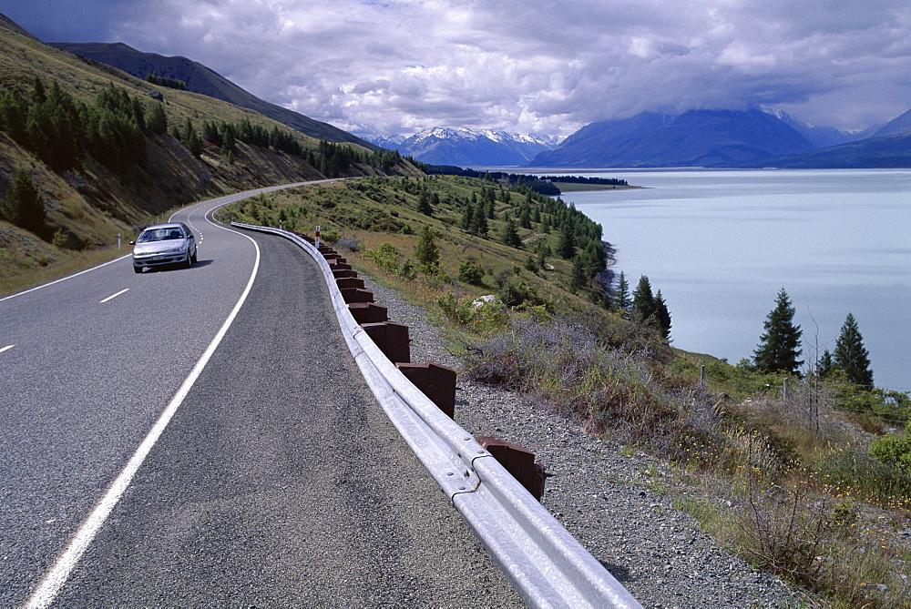 Lake Pukaki, Mount Cook National Park, South Island, New Zealand, Pacific