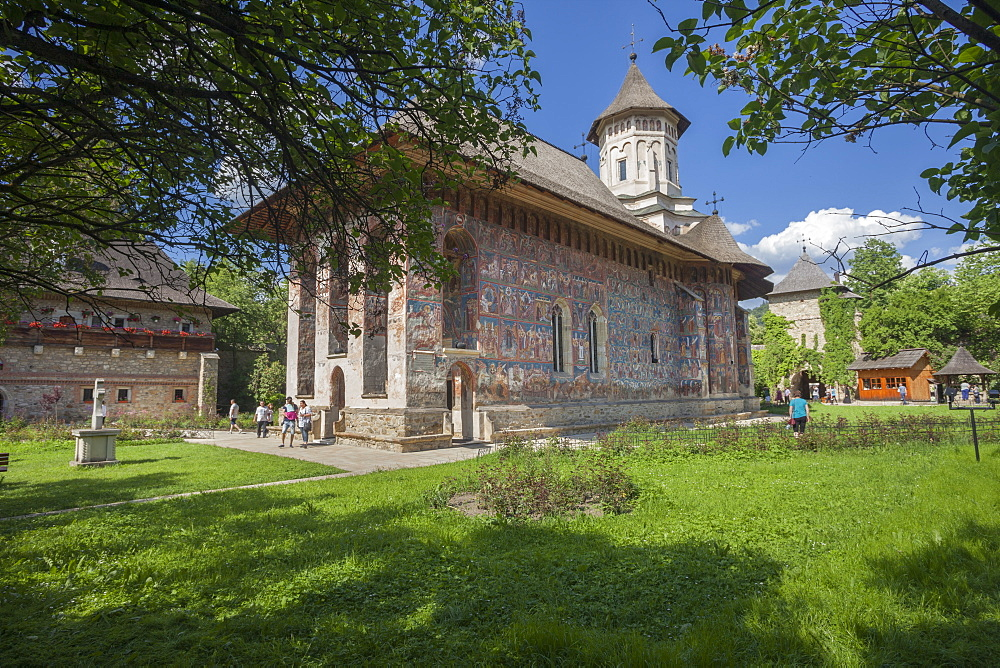 UNESCO World Heritage_Saxon painted Church_Monastery_Founded 1532_Christian Orthodox art - 385-1747