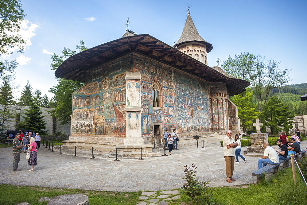 UNESCO World Heritage_Saxon painted Church_ Monastery_Founded 1488_Orthodox Christian art - 385-1750