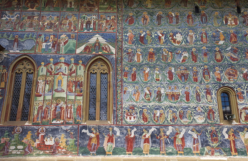 UNESCO World Heritage_Monastery_Saxon painted Church_Founded 1582_Orthodox Christian art - 385-1752