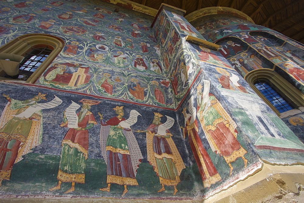 UNESCO World Heritage_Monastery_Saxon painted Church_Founded 1582_Orthodox Christian art - 385-1753