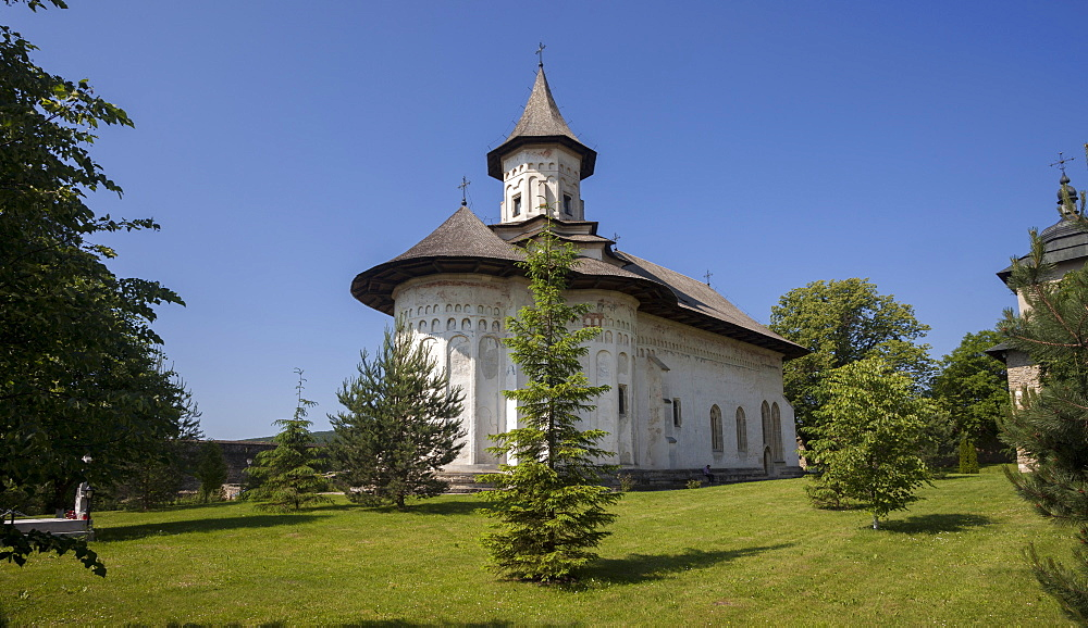 UNESCO World Heritage_Probota Monastery_Saxon painted Church_Founded 1530_orthodox Christian art - 385-1756