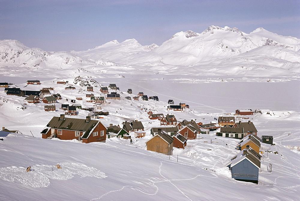 Angmagssalik (Ammassalik), Greenland, Polar Regions