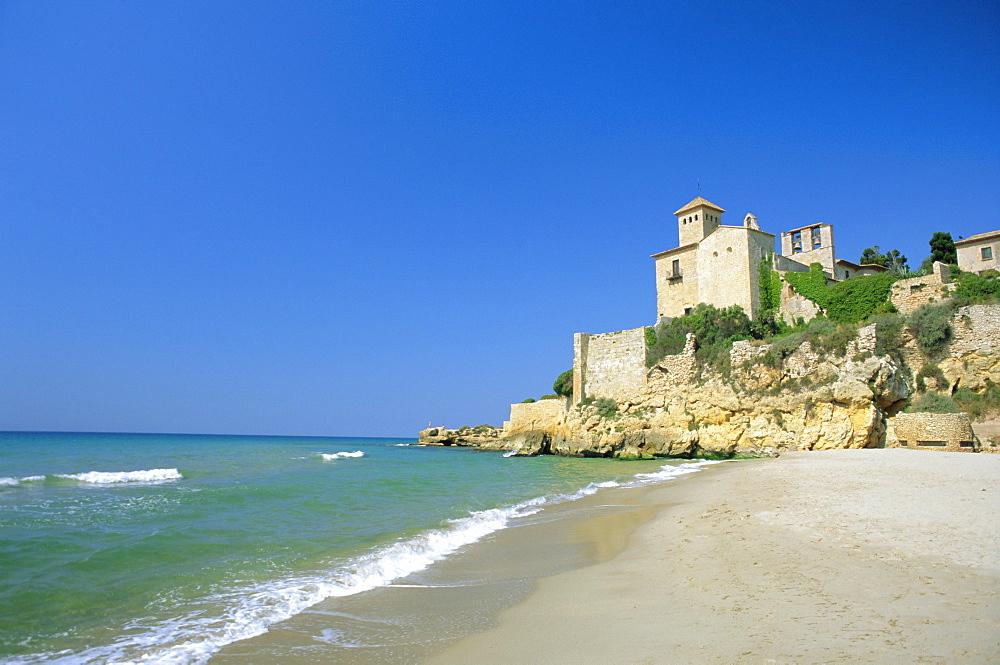 Tamarit Castle, Tarragona, Catalonia, Spain, Europe - 390-1823