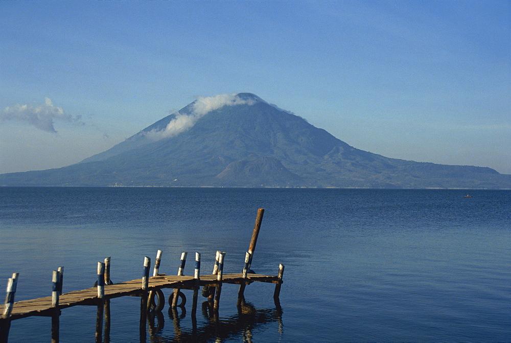 Volcano, Lake Atitlan, Atitlan, Guatemala, Central America - 391-3764
