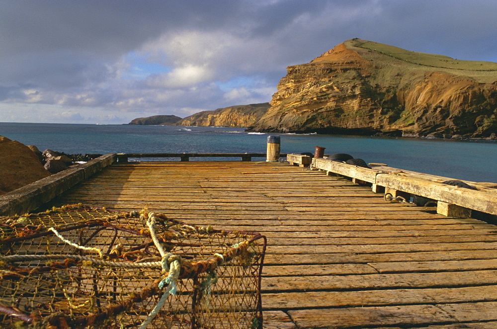 Wharf, Flowerpot, Pitt Island, Chatham Islands, Pacific islands, Pacific