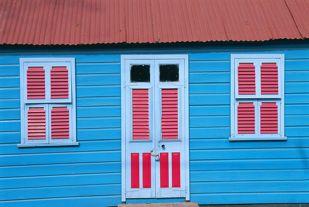 Chattel house in Holders, Barbados, Caribbean, West Indies, Central America - 396-1742