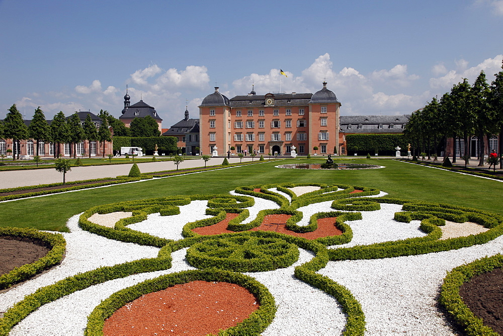 Schwetzingen castle, Baden-Wurttemberg, Germany, Europe