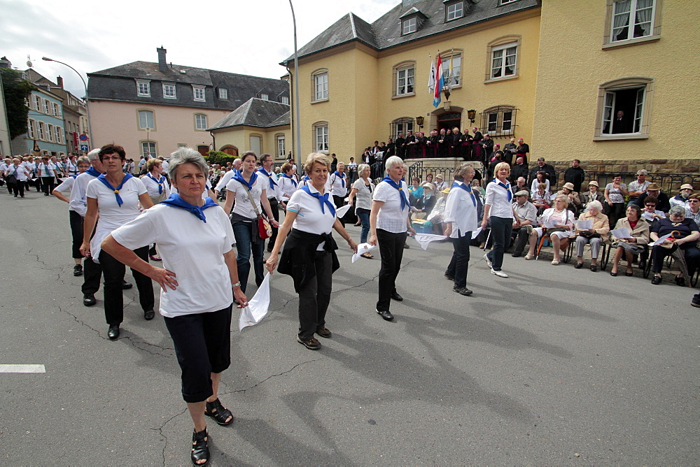Hopping procession of Echternach, Luxembourg, Europe