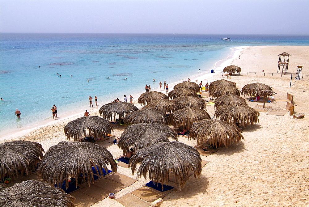 Mahmya Island near Hurghada, Red Sea, Egypt, North Africa, Africa