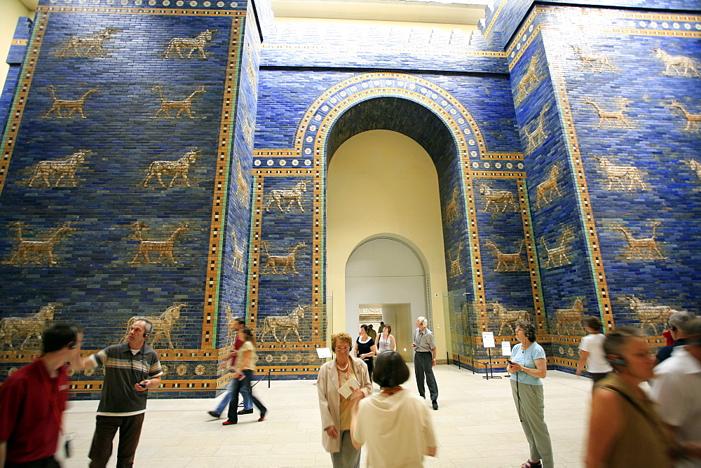 Ishtar Gate, Pergamon Museum, Berlin, Germany, Europe