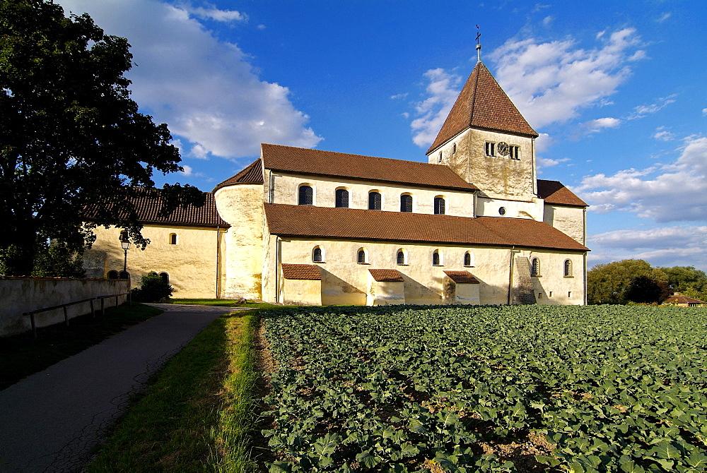 Church of St. George near Oberzell, Island of Reichenau, UNESCO World Heritage Site, Lake Constance, Baden-Wurttemberg, Germany, Europe