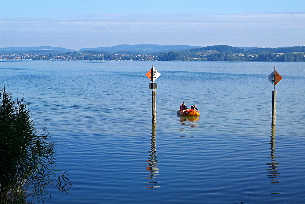 Near Mittelzell, Island of Reichenau, Lake Constance, Baden-Wurttemberg, Germany, Europe