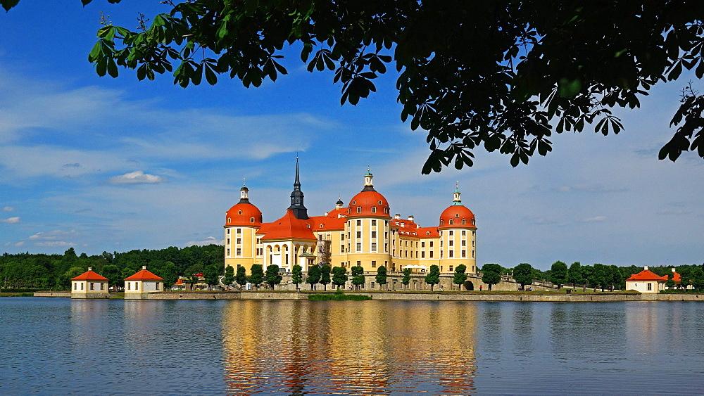 Moritzburg Castle near Dresden, Saxony, Germany
