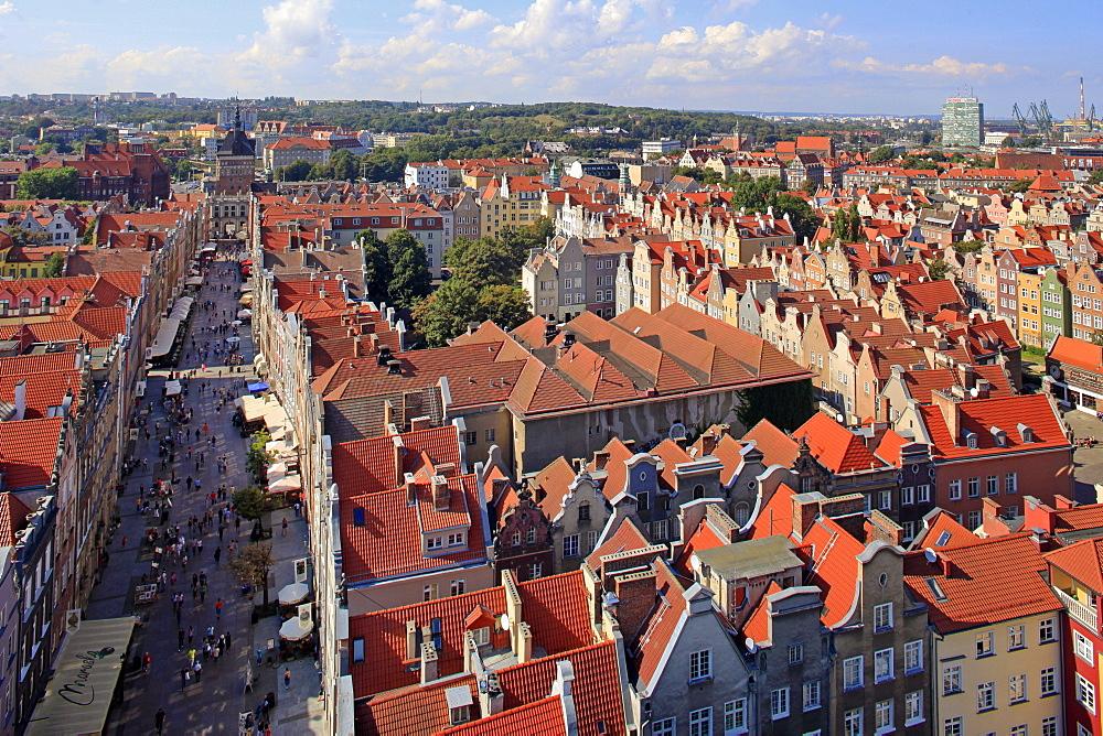 Old Town of Gdansk, Gdansk, Pomerania, Poland