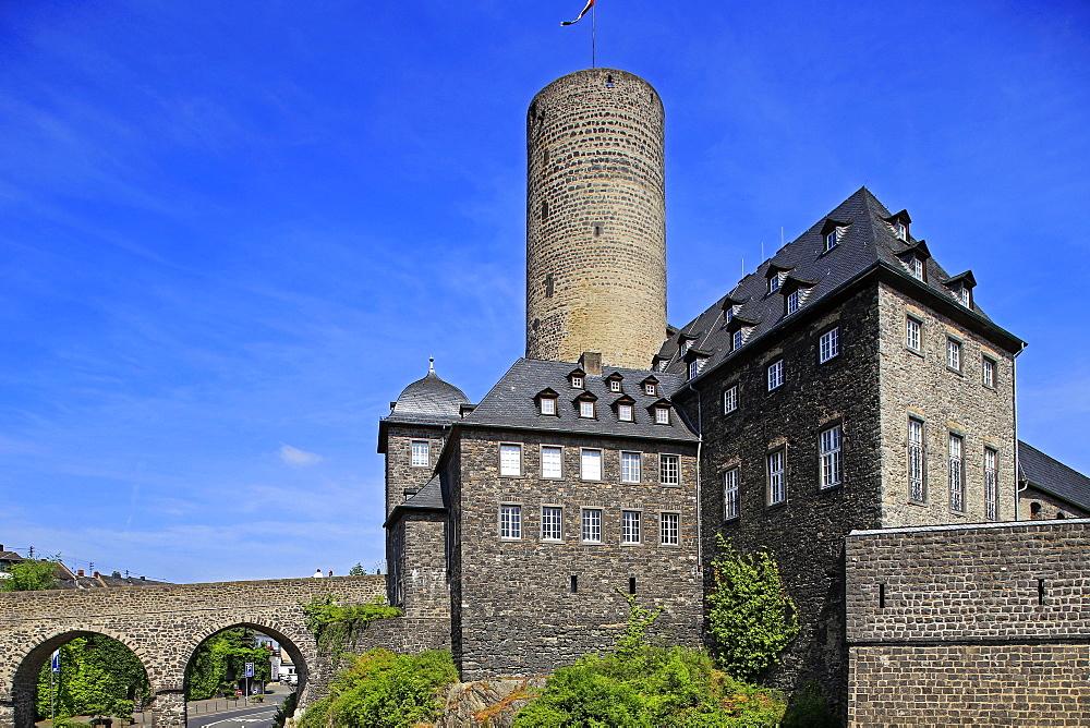 Genoveva Castle, Mayen, Eifel, Rhineland-Palatinate, Germany
