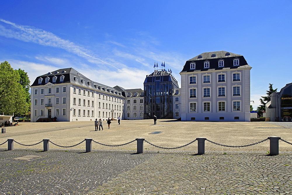 New Castle in Saarbruecken, Saarland, Germany