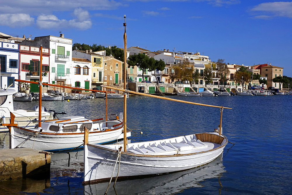Porto Colom, Majorca, Balearic Islands, Spain, Mediterranean, Europe