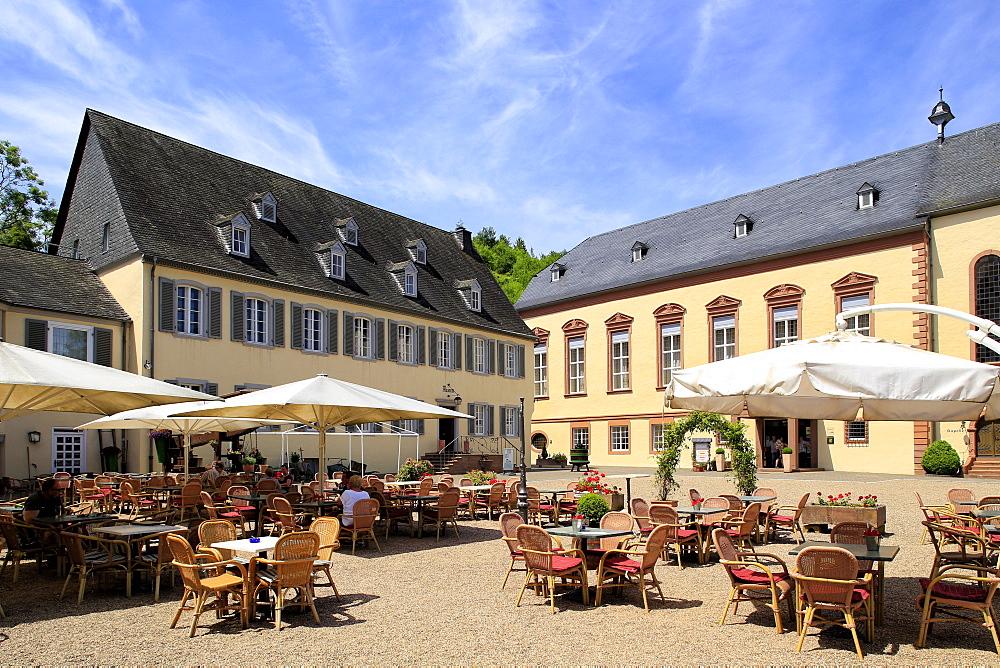 Machern Monastery near Zeltingen, Moselle Valley, Rhineland-Palatinate, Germany