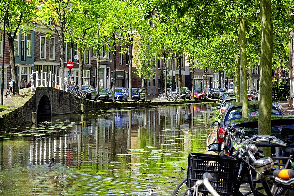 Oosteinde, Delft, South Holland, Netherlands, Europe