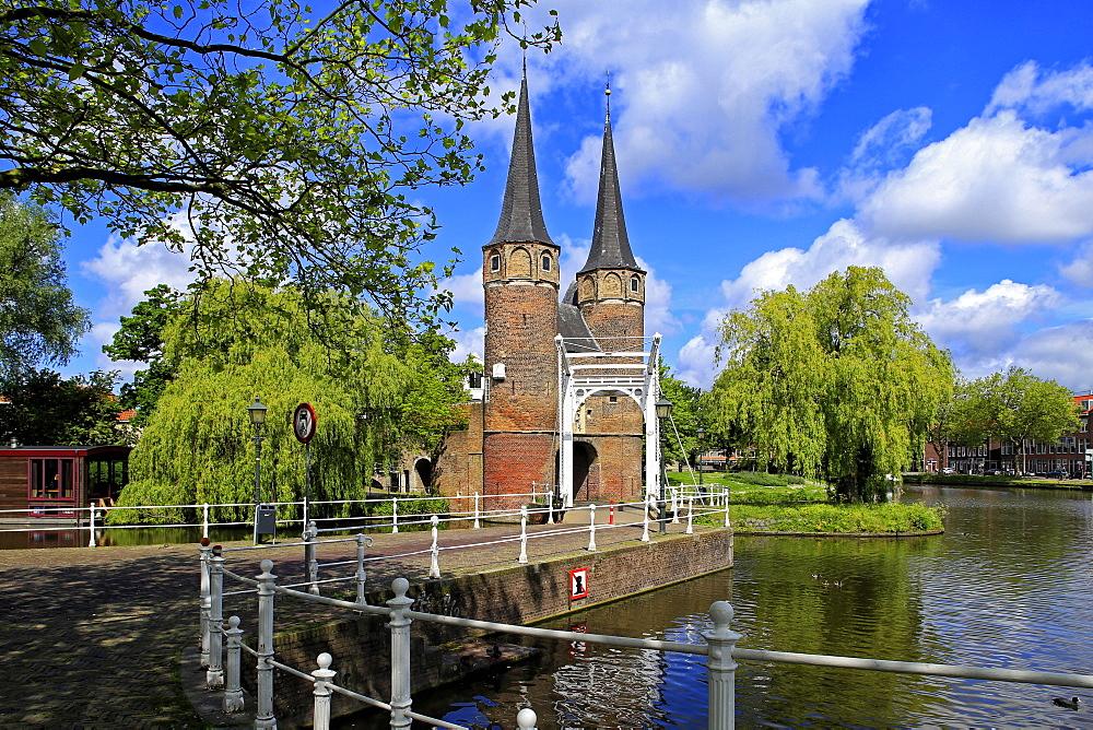 Oostpoort City Gate, Delft, South Holland, Netherlands, Europe