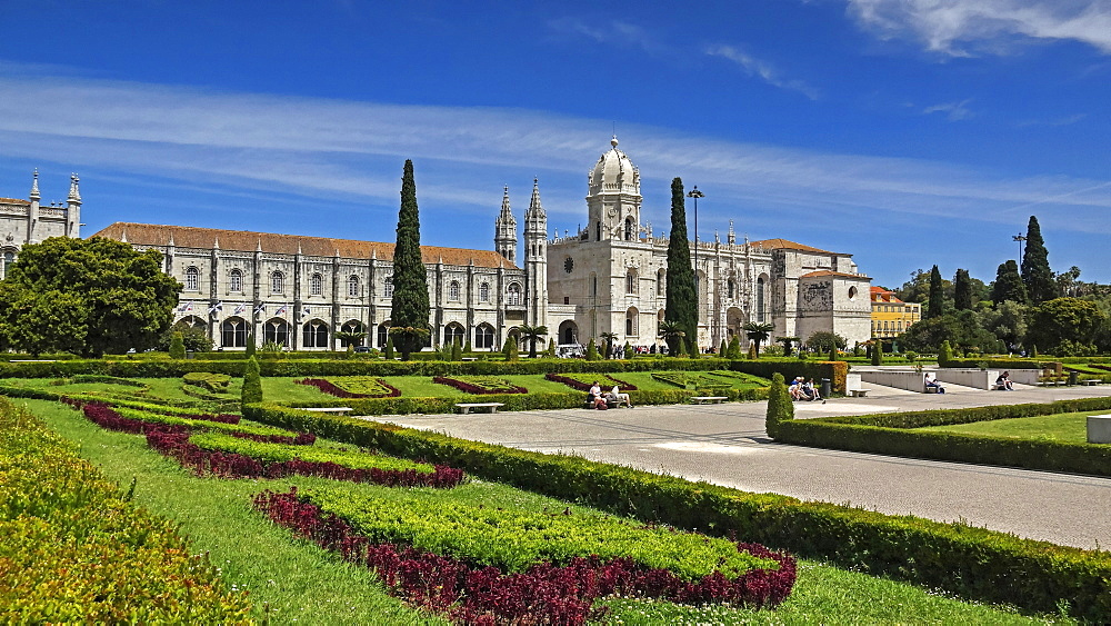 Mosteiro dos Jeronimos, UNESCO World Heritage Site, Belem, Lisbon, Portugal, Europe