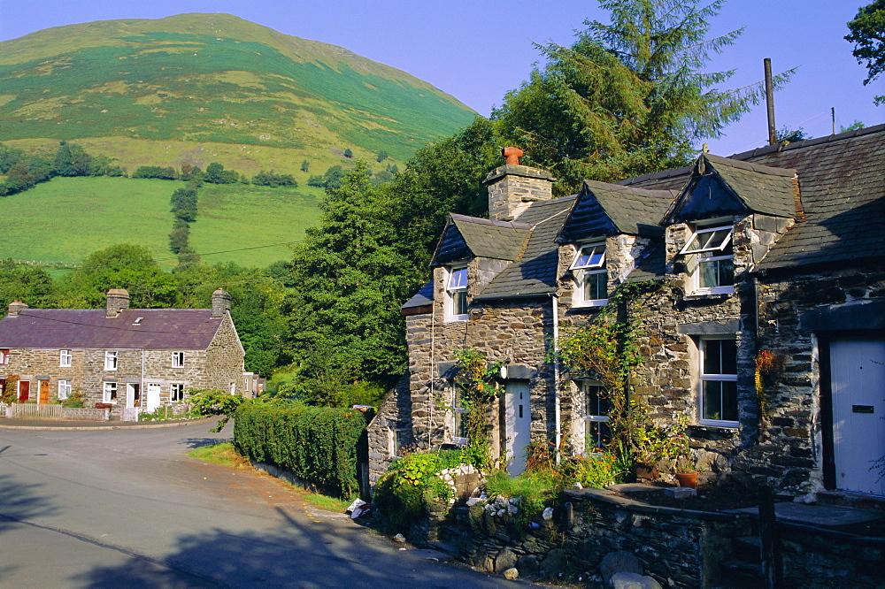 Hamlet of Aber Cywarch, Snowdonia National Park, Gwynedd, Wales, UK, Europe