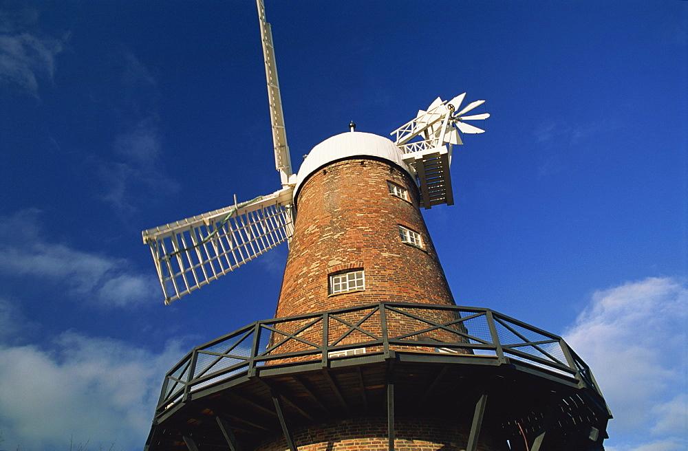 Green's Mill, built in 1807, Green's Park, Nottingham, Nottinghamshire, England, United Kingdom, Europe - 397-1908
